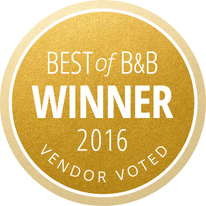 best of B&B winner badge 2016
